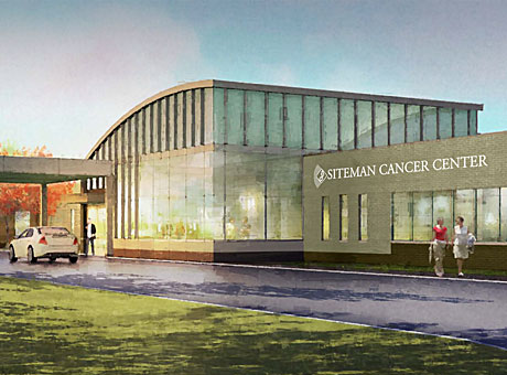 Alvin J. Siteman Cancer Center in south St. Louis County