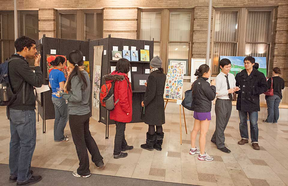 9th Annual Student, Faculty and Staff Art Show