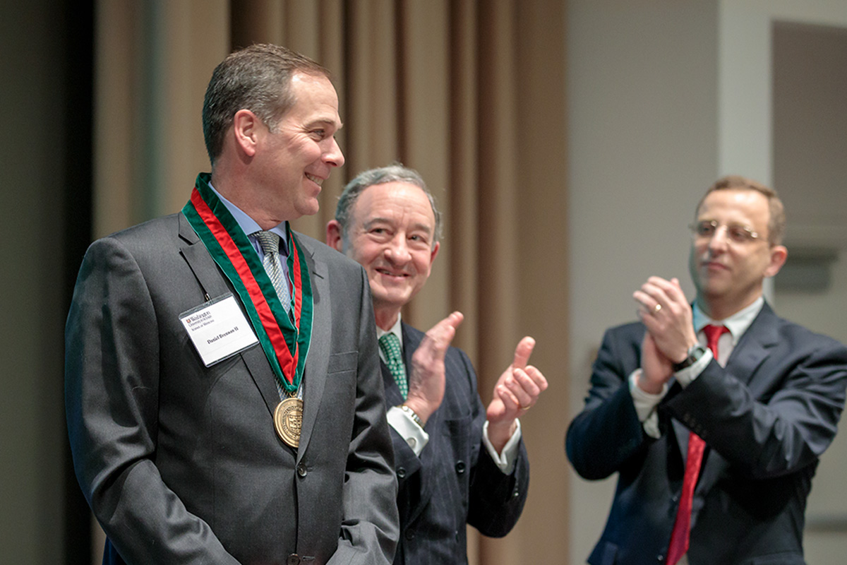 Daniel J. Brennan, MD, Professorship installation